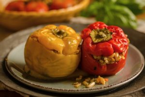 Stuffed Pepper Duo
