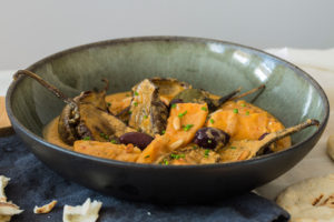 Aubergine and Sweet Potato Stew