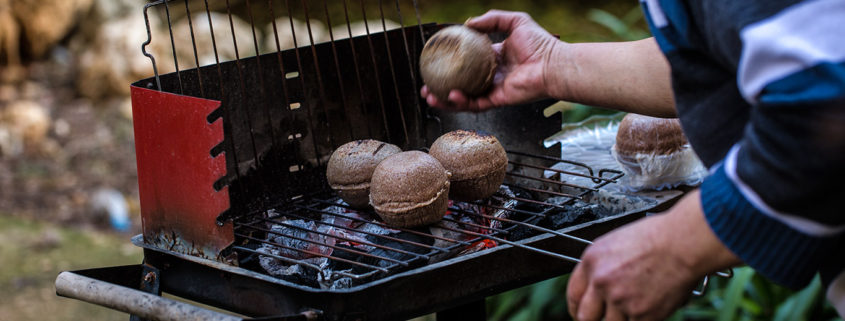 Kibbeh on the Grill