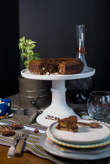 Medjool Date and Hazelnut Cake