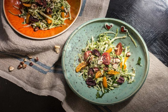 Cabbage and Olive Autumn Salad