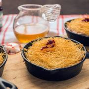 Osmallieh -Kataifi and Cream Pudding