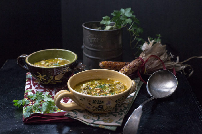 Chickpea and Meatball Soup