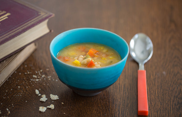Cannellini Bean and Vegetable Soup