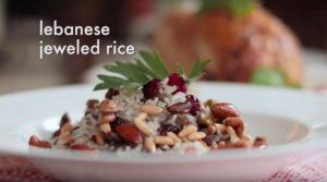 Lebanese Jeweled Rice